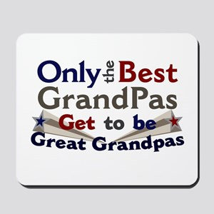 Best Great Grandpa 2 Mousepad
