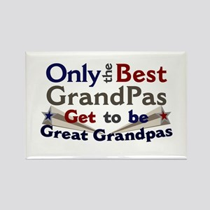 Best Great Grandpa 2 Rectangle Magnet