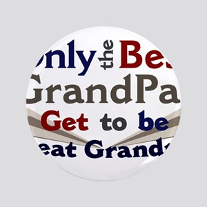 "Best Great Grandpa 2 3.5"" Button"