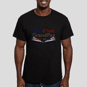 Best Great Grandpa 2 Men's Fitted T-Shirt (dark)