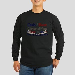 Best Great Grandpa 2 Long Sleeve Dark T-Shirt