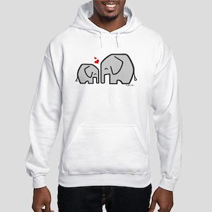 Elephants (4) Hooded Sweatshirt