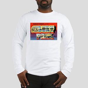 Asbury Park New Jersey (Front) Long Sleeve T-Shirt