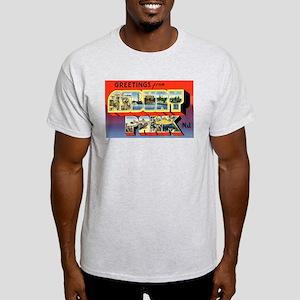 Asbury Park New Jersey (Front) Light T-Shirt