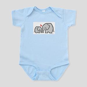 Elephants (4) Infant Bodysuit
