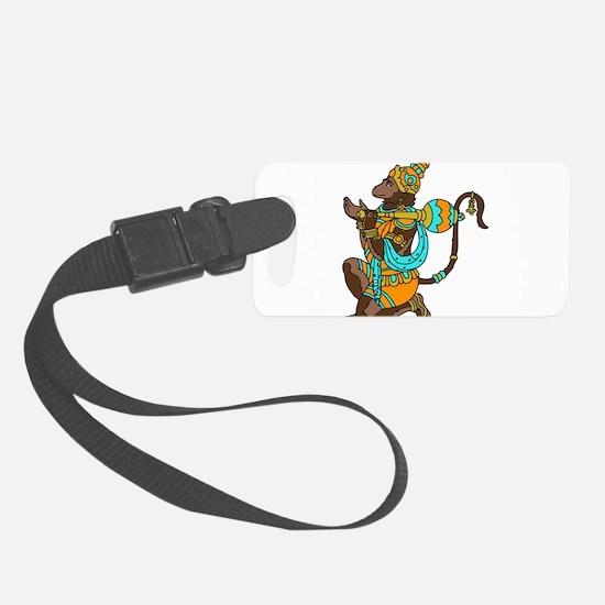 Kneeling Hanuman Luggage Tag