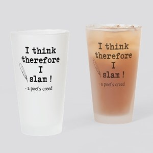 A Poets Creed Drinking Glass