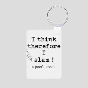 A Poets Creed Aluminum Photo Keychain
