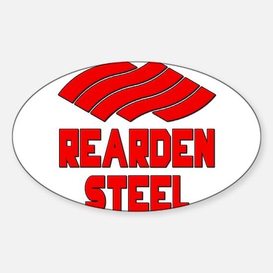 Rearden Steel Sticker (Oval)