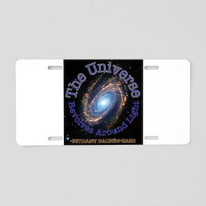 The Universe Revolves Around Light1 Aluminum Licen