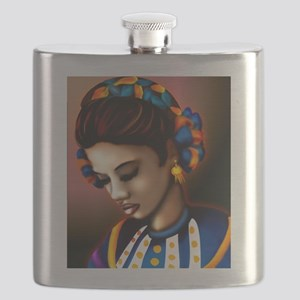 Mexican Jalisco Dancer Flask