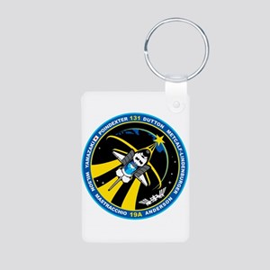 STS-131 Aluminum Photo Keychain