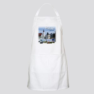 Maine Lighthouses BBQ Apron