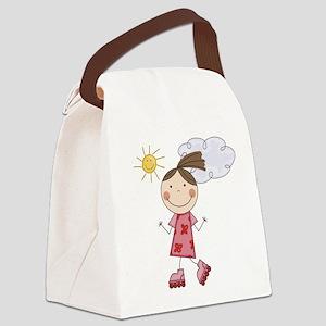 scrapgirlskates Canvas Lunch Bag