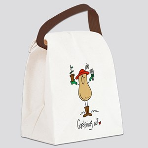 Gardening Nut Canvas Lunch Bag