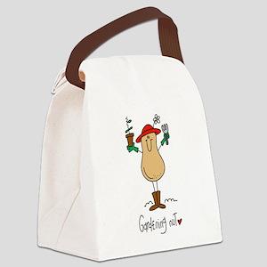 Gardening Nut Canvas Lunch Bag