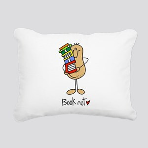 Book Nut Rectangular Canvas Pillow