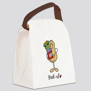 Book Nut Canvas Lunch Bag