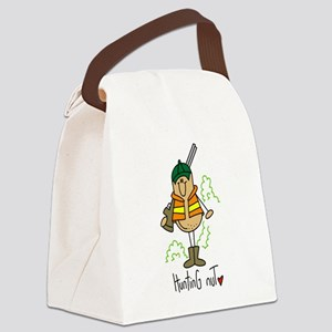 Hunting Nut Canvas Lunch Bag