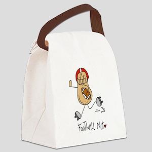 Football Nut Canvas Lunch Bag