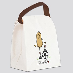 Soccer Nut Canvas Lunch Bag