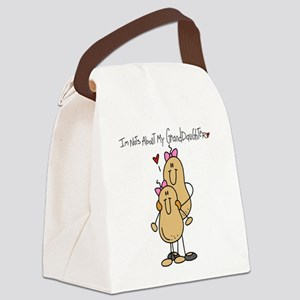 Nuts About My Granddaughter Canvas Lunch Bag