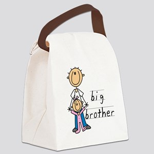 Big Brother With Little Sister Canvas Lunch Bag