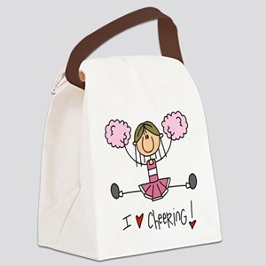 COLORSTEAMPINK Canvas Lunch Bag
