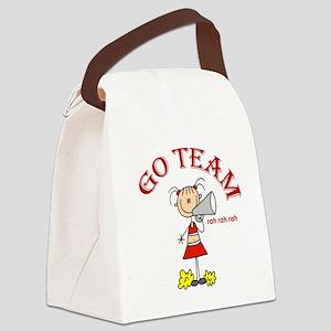 stickgoteamcute Canvas Lunch Bag