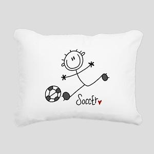 JDSOCCERONE Rectangular Canvas Pillow