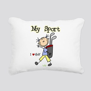 golfmysportimgthth Rectangular Canvas Pillow