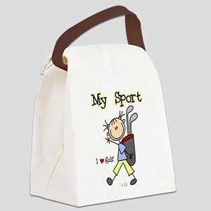 golfmysportimgthth Canvas Lunch Bag