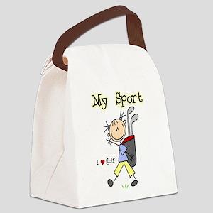 golfmysportimgthth Canvas Lunch Bag