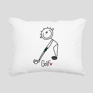 JDGOLFONE Rectangular Canvas Pillow