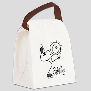 JDSKATINGONE Canvas Lunch Bag