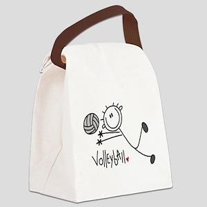 jdvolleyballone Canvas Lunch Bag