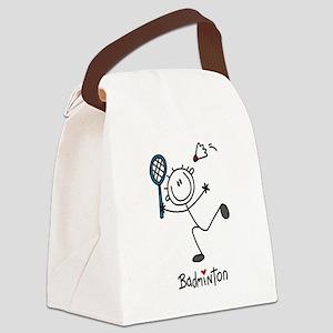 jdbadmintonone Canvas Lunch Bag