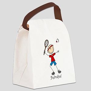 sportbadminton Canvas Lunch Bag