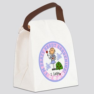 Crazy About Gardening Canvas Lunch Bag