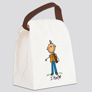 IHUNTSTICKTEE Canvas Lunch Bag
