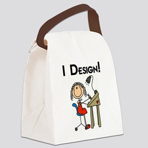 IDESIGNTEE Canvas Lunch Bag