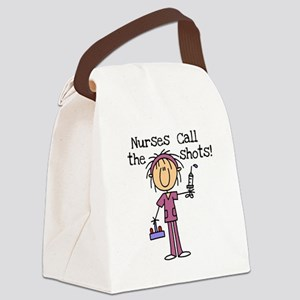 sticknursshots Canvas Lunch Bag