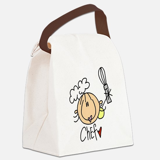 HEADCHEF.png Canvas Lunch Bag