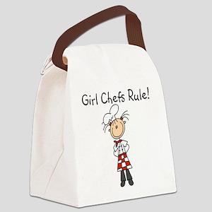 girlchefsrule Canvas Lunch Bag