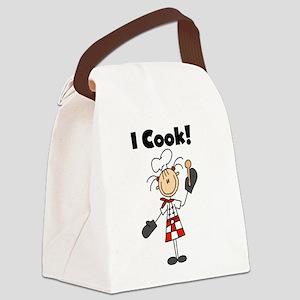 icookfemalechef Canvas Lunch Bag