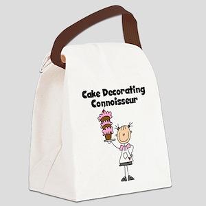CAKEDECORATINGCONNOISSEUR Canvas Lunch Bag