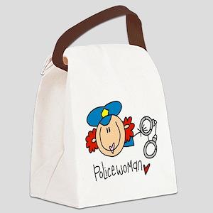 headpolicewoman Canvas Lunch Bag