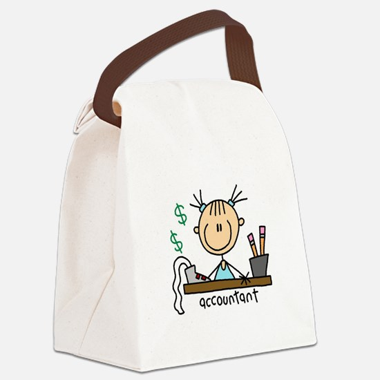 ACCOUNTANTSTICKFIG.png Canvas Lunch Bag