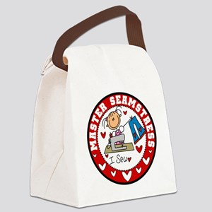 EMBMASTERSEAMSTRESS Canvas Lunch Bag