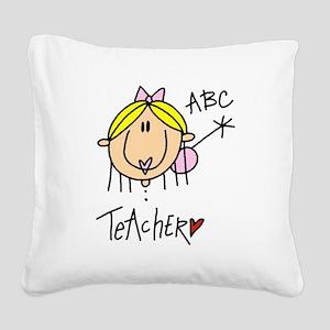 headteacher Square Canvas Pillow